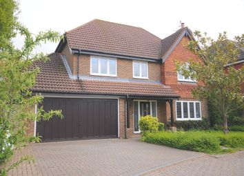 Thumbnail 4 bed detached house to rent in Lincolns Mead, Lingfield