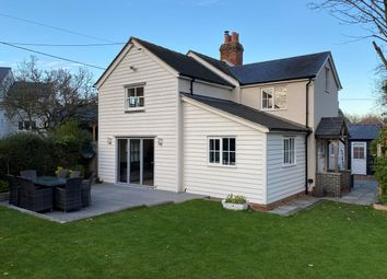Thumbnail 4 bed detached house for sale in Back Lane, Pleshey, Chelmsford