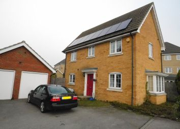 Thumbnail 3 bed detached house to rent in Lapwing Grove, Stowmarket