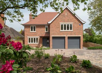 Thumbnail 4 bed detached house for sale in Gaddesby Lane, Rearsby, Leicester