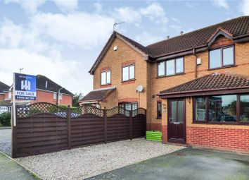 3 bed semi-detached house for sale in Pickering Road, Broughton Astley, Leicester LE9