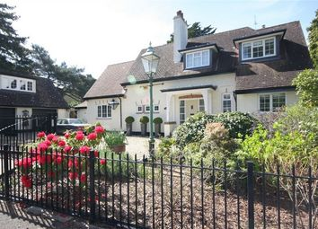 Thumbnail 4 bed detached house for sale in 13 De Mauley Road, Canford Cliffs, Poole, Dorset