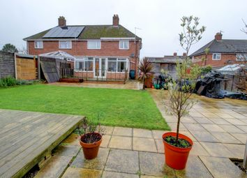 Thumbnail 3 bed semi-detached house for sale in Gowle Road, Stowmarket