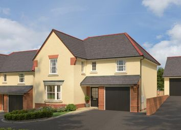 "Thumbnail 4 bed detached house for sale in ""Exeter"" at Northfield Lane, Barnstaple"