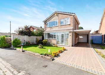Thumbnail 3 bed detached house for sale in Warwick Avenue, Carlton-In-Lindrick, Worksop