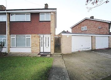 Thumbnail 3 bedroom semi-detached house for sale in Hayman Crescent, North Hayes, Hayes