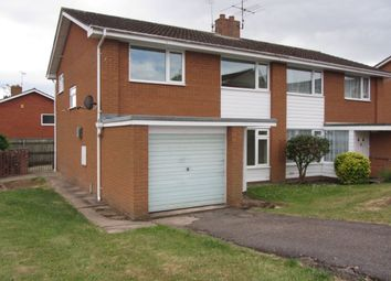 Thumbnail 3 bed semi-detached house to rent in Drakes Avenue, Sidford, Sidmouth