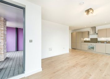 Thumbnail 2 bed flat for sale in Roosevelt Tower, 18 Williamsburg Plaza, London