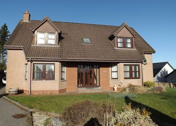 Thumbnail 4 bedroom detached house for sale in 24 Stagcroft Park, Tain