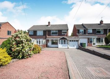 Thumbnail 3 bed semi-detached house for sale in Wellesbourne, Tamworth, Staffordshire, West Midlands