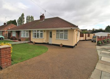 Thumbnail 2 bed semi-detached bungalow for sale in Shearman Close, Pensby, Wirral