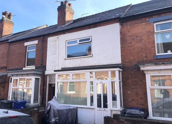 Thumbnail 3 bed terraced house for sale in Carlton Street, Burton-On-Trent, Staffordshire