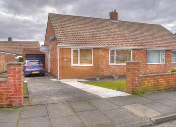Thumbnail 2 bed semi-detached bungalow for sale in Acorn Avenue, Bedlington