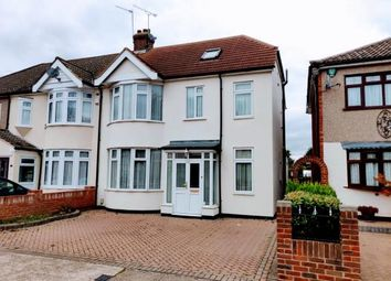 Thumbnail 4 bed end terrace house for sale in Oliver Road, Rainham