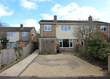 Thumbnail 3 bed semi-detached house for sale in Evenlode Close, North Leigh, Oxfordshire