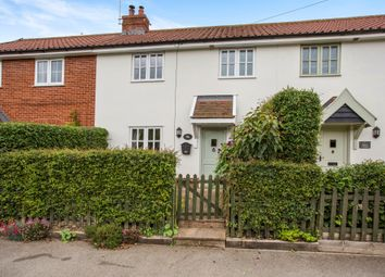 Thumbnail 3 bedroom terraced house for sale in The Street, Kettleburgh, Woodbridge