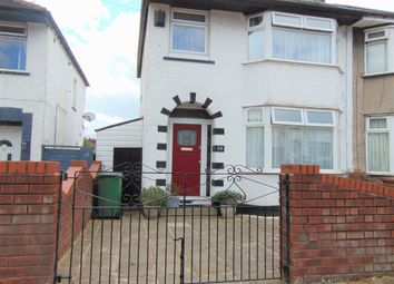 Thumbnail 3 bed semi-detached house for sale in Graylands Road, New Ferry, Wirral, Merseyside