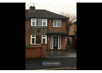 Thumbnail 3 bed semi-detached house to rent in Meadway, Bramhall, Stockport