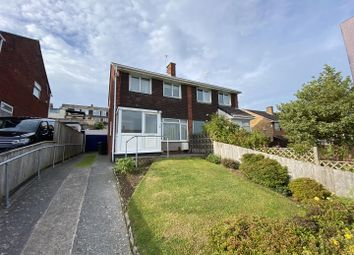 Thumbnail 3 bed semi-detached house for sale in Moorland Drive, Plympton, Plymouth