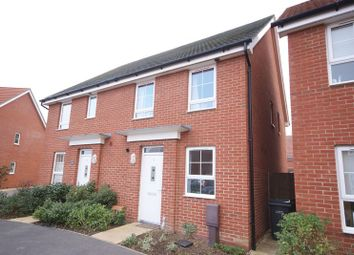 Thumbnail 2 bed semi-detached house for sale in Cockerell Close, Lee On The Solent