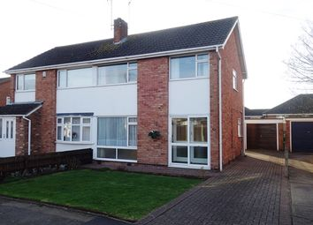 Thumbnail 3 bed semi-detached house to rent in Attfield Drive, Whetstone, Leicester