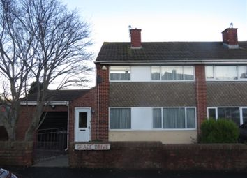 Thumbnail 3 bed end terrace house for sale in Grace Drive, Kingswood, Bristol