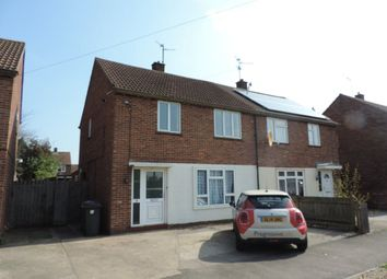Thumbnail 3 bedroom semi-detached house to rent in Heather Avenue, Dogsthorpe, Peterborough