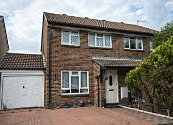 Thumbnail 3 bed semi-detached house for sale in Wispington Close, Lower Earley, Reading