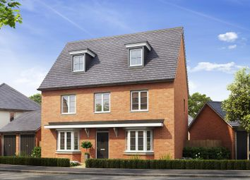 "Thumbnail 5 bed detached house for sale in ""Wilpshire"" at Mitton Road, Whalley, Clitheroe"