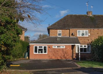 Thumbnail 3 bed semi-detached house for sale in Brook Close, Quarndon, Derby