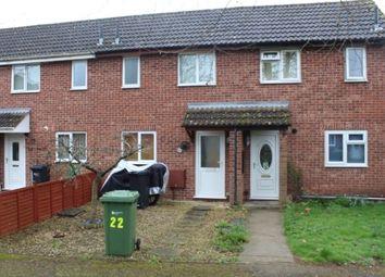 Thumbnail 1 bed terraced house to rent in Westbury Close, Lower Bullingham, Hereford