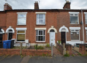Thumbnail 2 bed terraced house to rent in Clarke Road, Norwich