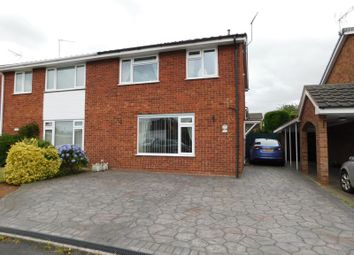 Thumbnail 3 bed semi-detached house for sale in Brambleside, Wildwood, Stafford.