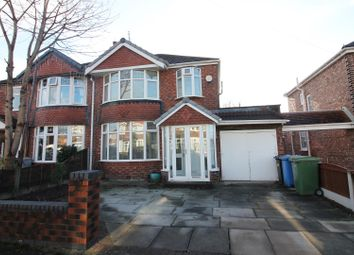 Thumbnail 3 bed semi-detached house for sale in Kirkstall Road, Urmston, Manchester