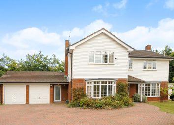 Thumbnail 4 bed detached house to rent in The Garth, Cobham