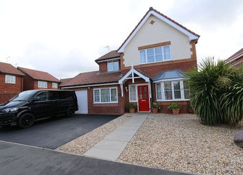 Thumbnail 4 bed detached house for sale in Ffordd Idwal, Prestatyn, Denbighshire