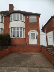Thumbnail 3 bed property to rent in Glyn Farm Road, Quinton, Birmingham