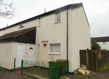 Thumbnail 3 bedroom end terrace house for sale in Crabtree, Paston, Peterborough
