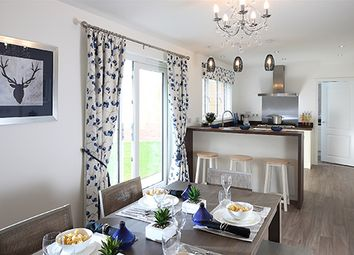 "Thumbnail 5 bed detached house for sale in ""Melton"" at Tilston Road, Malpas"