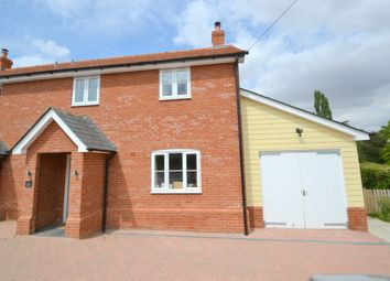 Thumbnail 2 bed semi-detached house to rent in Hole Farm Cottage, Knowl Green, Belchamp St Paul
