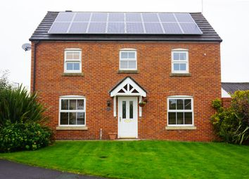 Thumbnail 4 bed detached house for sale in Keepers Wood Way, Catterall, Preston