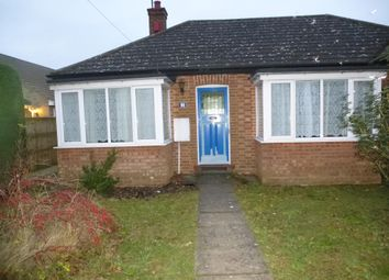 Thumbnail 3 bed bungalow to rent in Benwick Road, Doddington, March