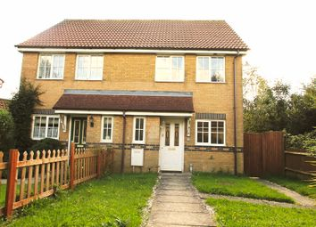 Thumbnail 2 bed semi-detached house to rent in Stansfeld Avenue, Hawkinge