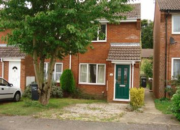 Thumbnail 1 bed semi-detached house to rent in Barley Hill Road, Northampton