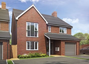 Thumbnail 5 bed detached house for sale in Plot 88 Weogoran Park, Whittington Road, Worcester