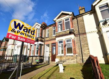 Thumbnail 3 bedroom terraced house for sale in Buckland Avenue, Dover, Kent