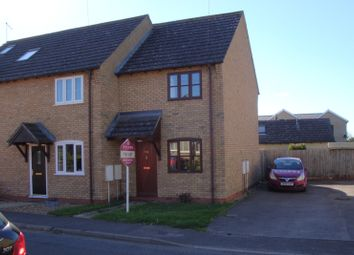 Thumbnail 2 bed end terrace house to rent in Mereside, Soham, Ely