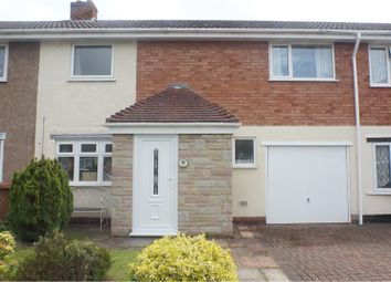 Thumbnail 3 bed town house for sale in Orchard Close, Lichfield