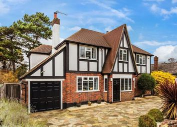Thumbnail 4 bed detached house for sale in St. Normans Way, Ewell
