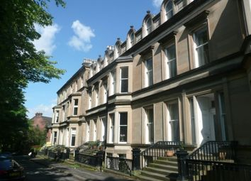 Thumbnail 1 bedroom flat to rent in Crown Terrace, Glasgow